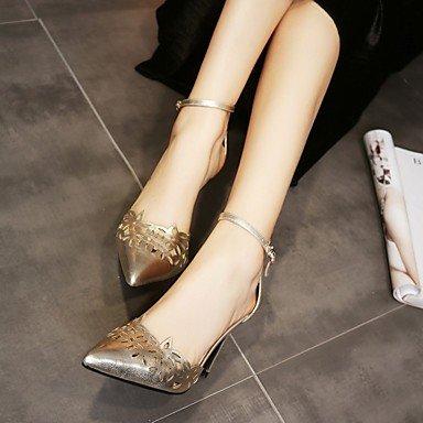 LvYuan sandali primavera scarpe club estivo fustigano partito&sera tacco a spillo Gold