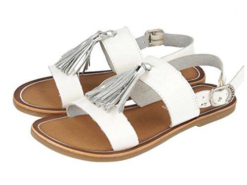 Gioseppo, Sandali bambine Bianco Size: 34