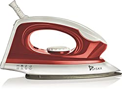 Syska Magic SDI-05 Dry Iron (White & Red)