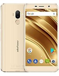 Mamum 4g Android 7.0 Smartphone 5,3 Zoll, s8 ulefone pro Android 7.0 Smartphone 16gb 2gb + Quad-Core-Dual-SIM-Dual-Kameras 5,3 Zoll Gold