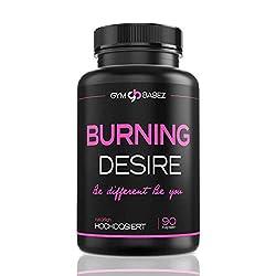 Burning Desire [Beliebt in der Diät] » Speziell für Frauen « F-Burn Woman Tabletten - Burner Pillen von Experten - Inkl. Ebook zum Abnehmen - 90 Kapseln (vegan)