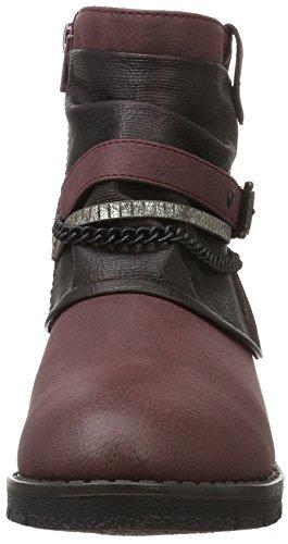 Jane Klain Damen Stiefelette Kurzschaft Stiefel Rot (570 WINE)