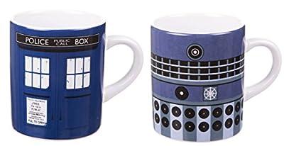 Boxed Doctor Who Set de 2 tasses Mini