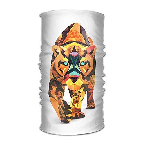 Preisvergleich Produktbild Qinckon Headwear Headband Tiger Pattern Head Scarf Wrap Sweatband Sport Headscarves for Men Women