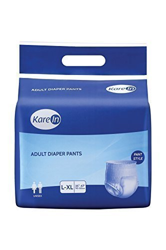 Kare In Adult Pull ups - Pant Style Underwear 10's Pack Large Size 90-120cm (35'-47')