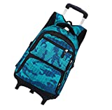Best Rolling Back Packs - Large Capacity Student Rolling Backpack - Climbing Stairs Review