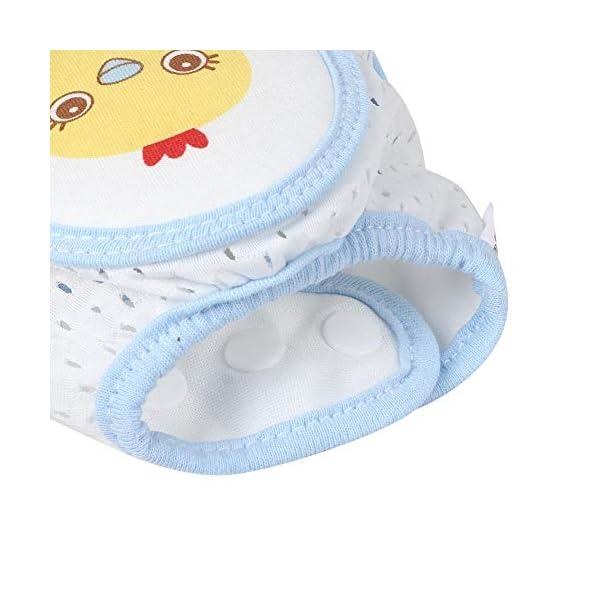 Cojín protector de rodillas de arrastre para bebés, Cojines de codo de rodilla ajustables Protector de seguridad de… 3