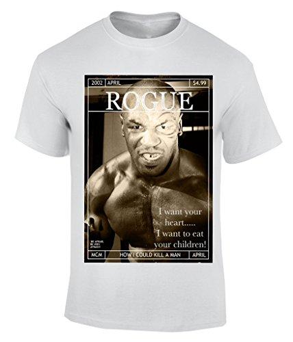 Mike Tyson Eat Child T-Shirt Herren Weiß
