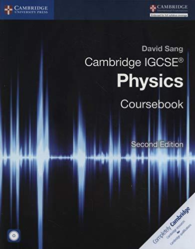 Cambridge IGCSE® Physics Coursebook with CD-ROM PDF Books