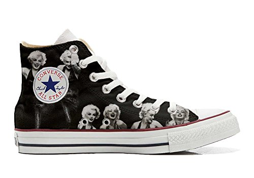 Converse All Star chaussures coutume mixte adulte (produit artisanal) photo Marylin