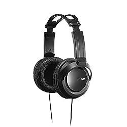 JVC Full Sized Over Ear Headband Over Ear Full Size Headband Black (HARX330)