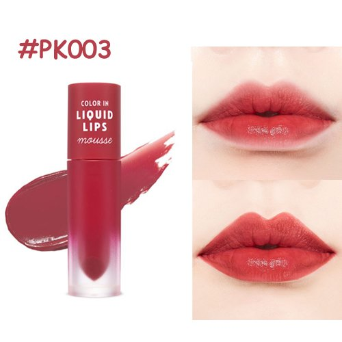[ETUDE HOUSE] Color In Liquid Lips Mousse 3.2g 6Color NEW / *It will be shipped with tracking number