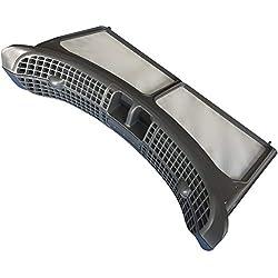 Filtre pour sèche-linge Whirlpool pour AWZ8CDPRO AWZ8CDUK AWZ9CDPRO DDLX70110 DDLX80114 DDLX90110 HDLX80313 HSCX10431 HSCX90310 HSCX90423 HSCX90430