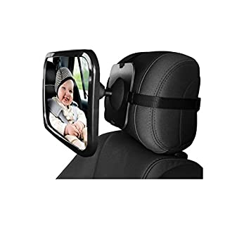 abaobao Baby® Baby Mirror Car Rearview Mirror Monitor for Car Rear Seat Monitoring Mirror for Baby Safe Have A 360° Rotation