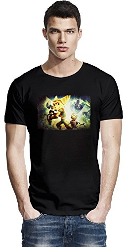 Ratchet & Clank Attack Raw Edge-T-Shirt Small