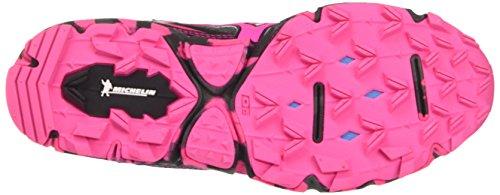 Mizuno Wave Hayate (W), Scarpe da Running Donna Multicolore (Dark Shadow/Pink Glow/Black)