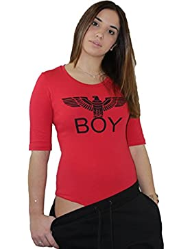 Body BOY LONDON Nero rosso Bia