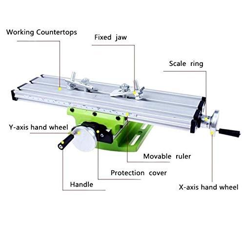 L-Yune-wj Miniatur-Präzisions-Multifunktions-Frästisch-Maschinenbohrmaschinen-Schraubstock-Vorrichtung