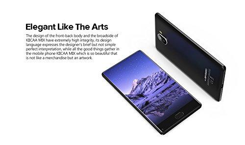 Smartphone 4G Libre - LEAGOO KIICAA MIX - 5 5 Pulgadas FHD sin Marcos Android 7 0  Corning Gorilla Glass 4  Octa Core 1 5GHz 3GB RAM 32GB ROM  13 0MP