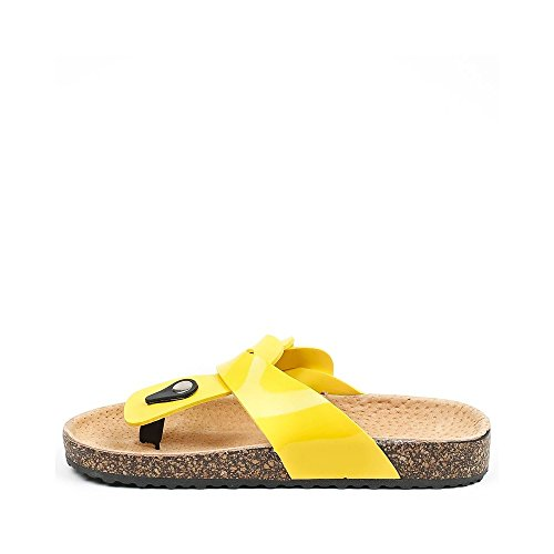 Ideal Shoes ,  Infradito donna Giallo