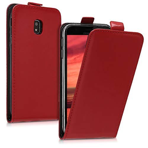 kwmobile Samsung Galaxy J3 (2017) DUOS Hülle - Handyhülle für Samsung Galaxy J3 (2017) DUOS - Handy Case Flip Schutzhülle