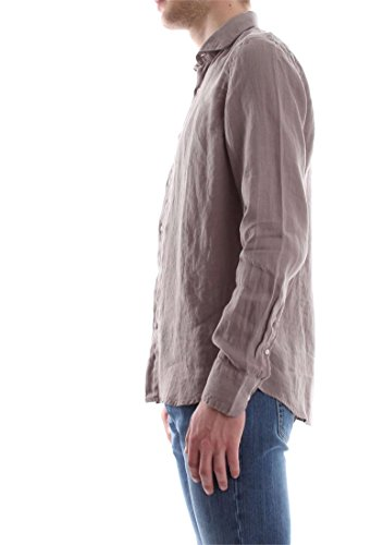 AT.P.CO FRANCIA 5 LINO CHEMISE Homme TORTORA