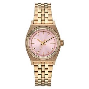 Nixon Damen Analog Quarz Uhr mit Edelstahl Armband A3992360-00