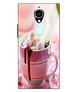 Make My Print Abstract Mug Printed Colorful Hard Back Cover For Gionee Elife E7