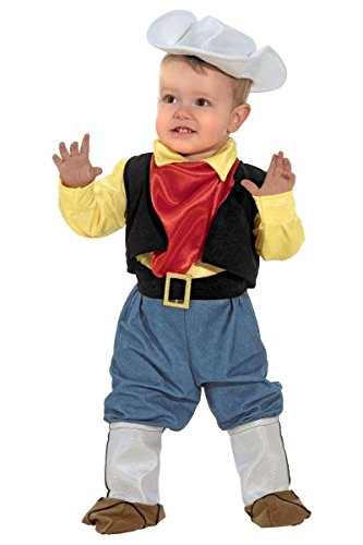 cky Cowboy Kleinkindkostüm, Größe:92 (Baby Boy Cowboy-outfit)