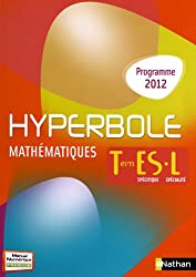 Mathématiques Tle ES/L : Programme 2012