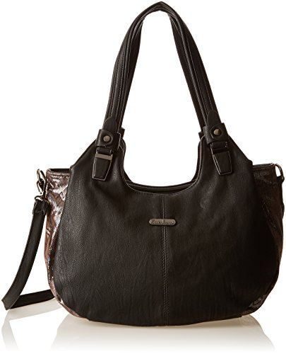 Little Marcel Chelsy, Borsa a spalla donna , Nero (Black (nero)), Taille Unique
