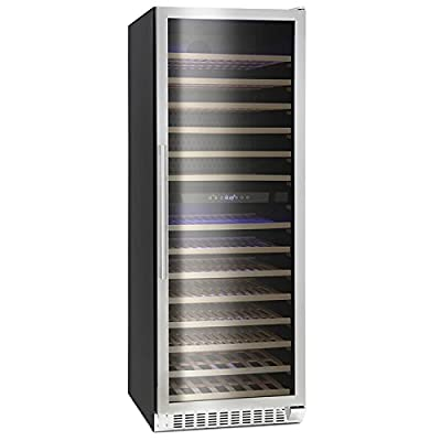 Montpellier WS181SDX Dual Zone 181 Bottle Wine Cooler by Montpellier