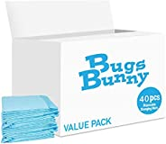 Bugs Bunny Disposable Changing Mats Value Pack (40 PCS)