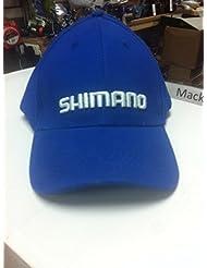 Shimano Bleu Royal Casquette Baseball