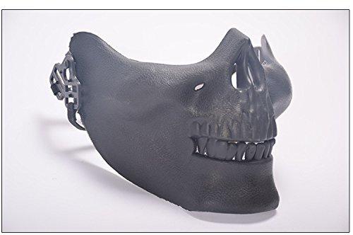 en / Totenkopf-Masken, für Halloween schwarz (Benutzerdefinierte Halloween Requisiten)