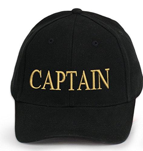 4sold Capitaine Bonnet Casquette Captain Ancient Mariner, Captain Cabin Boy Crew First Mate Yachting Baseball Bonnet Inscription Inscription