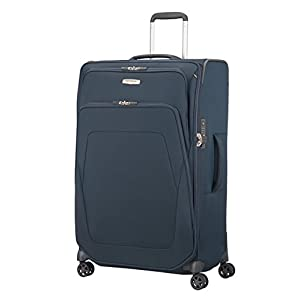 Samsonite Spark Sng - Spinner 79/29 Expendable Suitcase, 79 cm, 140 L, Blue (Blue)