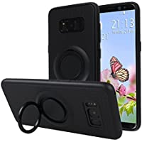 Galaxy S8 Hülle Ring, Galaxy S8 Tasche Ring, Moon mood® Drop Protection Shell 3 in 1 Hybrid Magnethalterung Hülle... preisvergleich bei billige-tabletten.eu