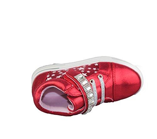 Komfort Mädchen Schuhe Babys causale Modus Rennen Markt von Trainer Stiefel Größe Rot - Rot