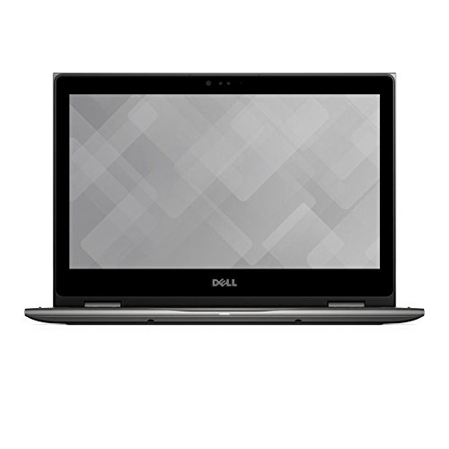 Dell Inspiron 13 5379 33,8 cm (13,3 Zoll FHD) Convertible Laptop(Intel Core i7-8550U, 512GB SSD, Intel UHD Graphics 620 with shared graphic memory, Touchscreen, Win 10 Home 64bit German) era grau