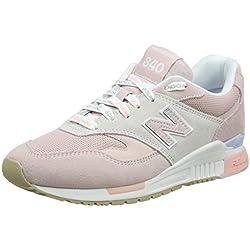 New Balance 840, Zapatillas para Mujer, Rosa (Conch Shell/Nimbus Cloud RTP), 41 EU
