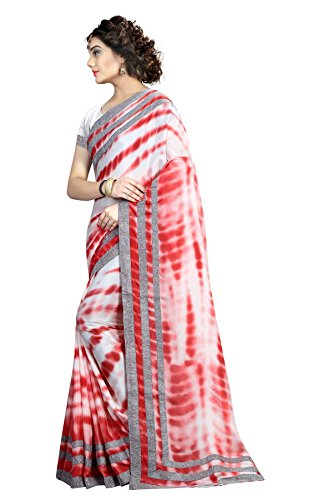 Shailaja Sarees Women's Satin Chiffon Saree (SSS1152A_Multi-Coloured_Free Size)