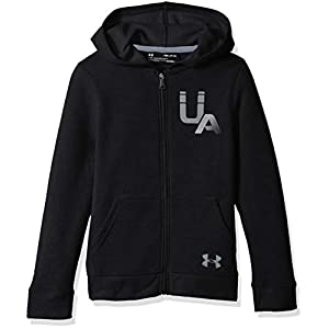 Under Armour Jungen Rival Logo Full Zip Oberteil