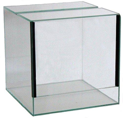 FavoPet Terrarium mit Falltür (40x40x40 cm)