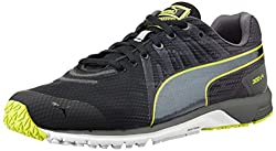 Puma Mens Faas 300 v4 Black, Periscope and Black Mesh Running Shoes - 11 UK /India(46EU)