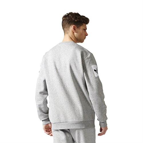 adidas Herren Street Graph Cr Sweatshirt Grau