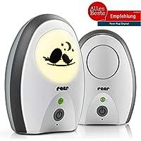 reer 50070 Babyphone Rigi Digital – abhörsicher, strahlungsarm, Nachtlicht, Gegensprechfunktion