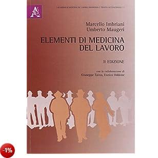 Elementi di medicina del lavoro
