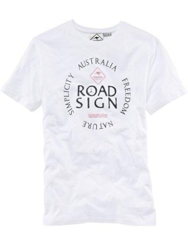 ROADSIGN australia Basic T-Shirt Simplicity Weiß