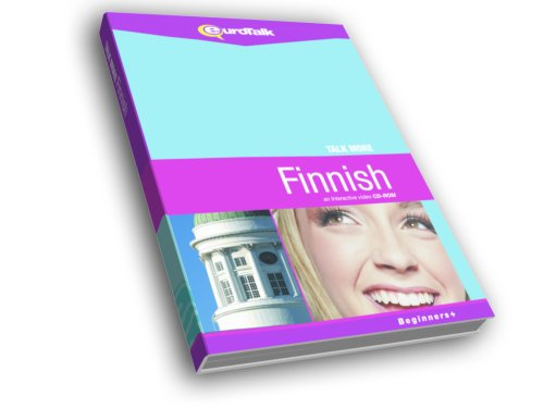 Talk More Finnish: Interactive Video CD-ROM - Beginners+ (PC/Mac) [Import]